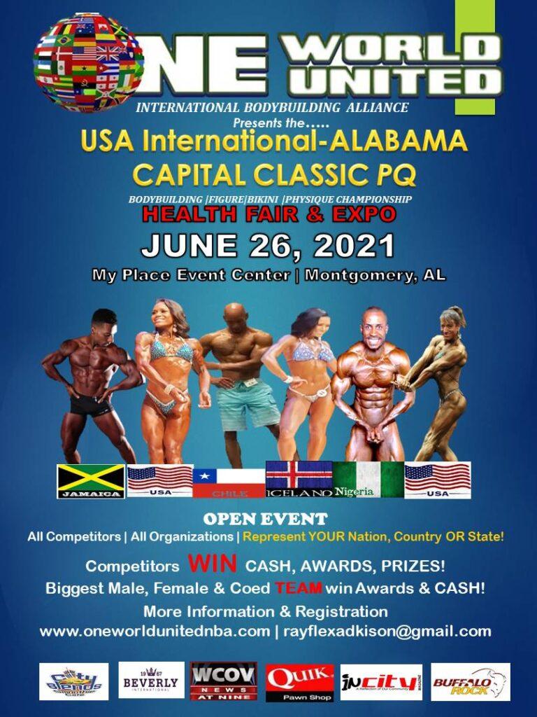 JUNE 26, 2021 USA INTERNATIONAL CAPITAL CLASSIC